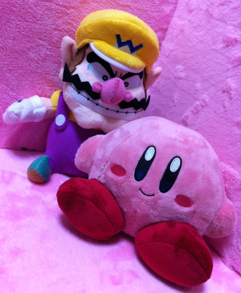 Wario and Kirby by Sanei